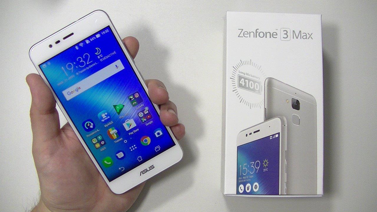 Avis Asus Zenfone 3 Max ZC520TL
