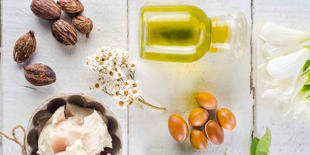 soins naturels avec de l'huile essentielle
